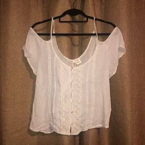Cold Shoulder Boho Top